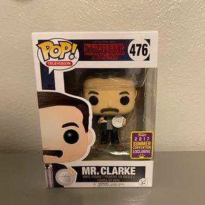 Funko POP: Strangers Things - Mr. Clarke, exclusiv